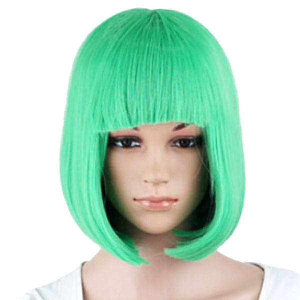Fashion Women's Sexy Full Bangs Wigs Short Wig Straight BOB Hair Cosplay Party