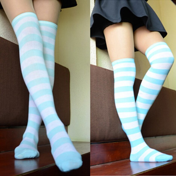 Girls' Knee High Socks Cute knee high socks are the craze these days, and you will love our crazy knee high socks! Check out all our latest patterns and colors!