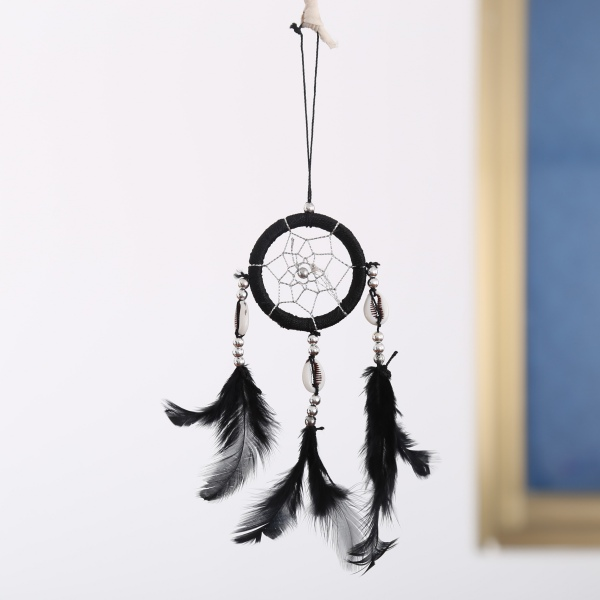 Handmade Mini Dream Catcher Feathers Long Wall Car Hanging