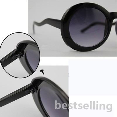 Glasses Frame Bending : Vintage Woman Girl Glasses Bending Frame Sunglasses Dark ...