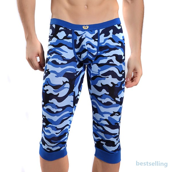 Mens cargo army military camo combat camouflage leggings pants shorts