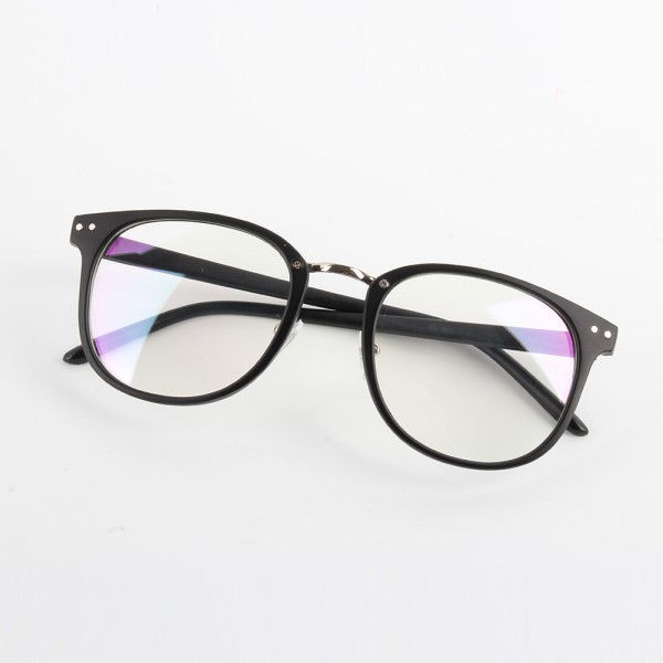 Fashion Unisex Optical Glasses Womens Mens Round Frame ...