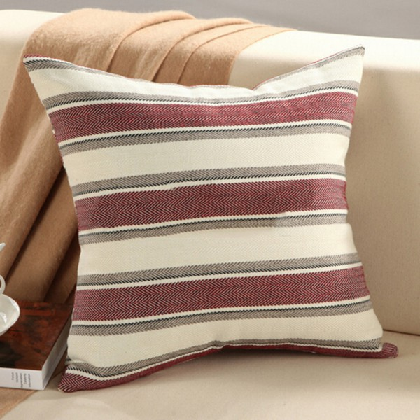 Soft cotton pillow cushion cover case home room bed sofa for Best soft bed pillows