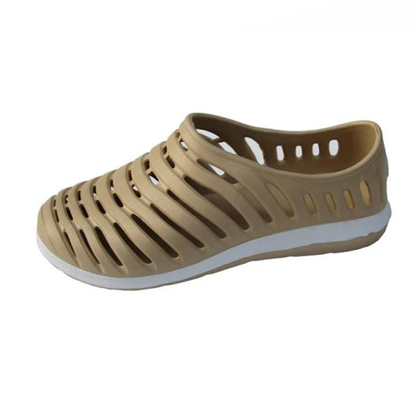 boy hollow out sandals rubber slip on casual cool