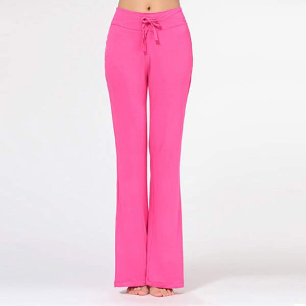 Womens Yoga Pant Trousers Cotton Practise Pants Exercise