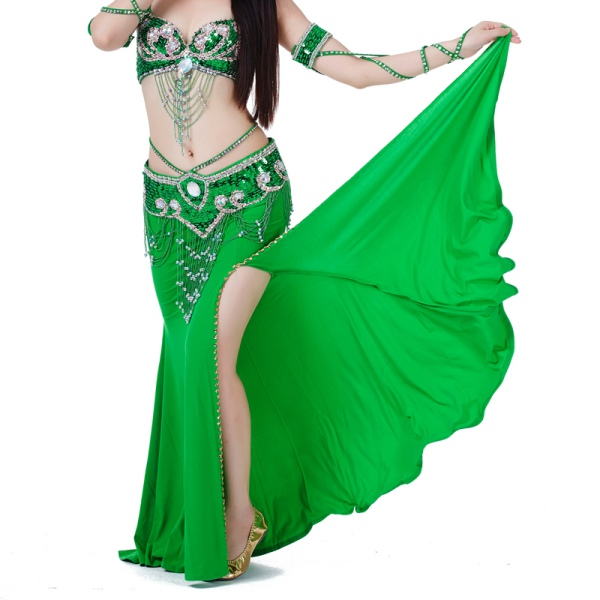 Pro Belly Dance Performances Costume Skirt Dress Multi Colors For Choose M47