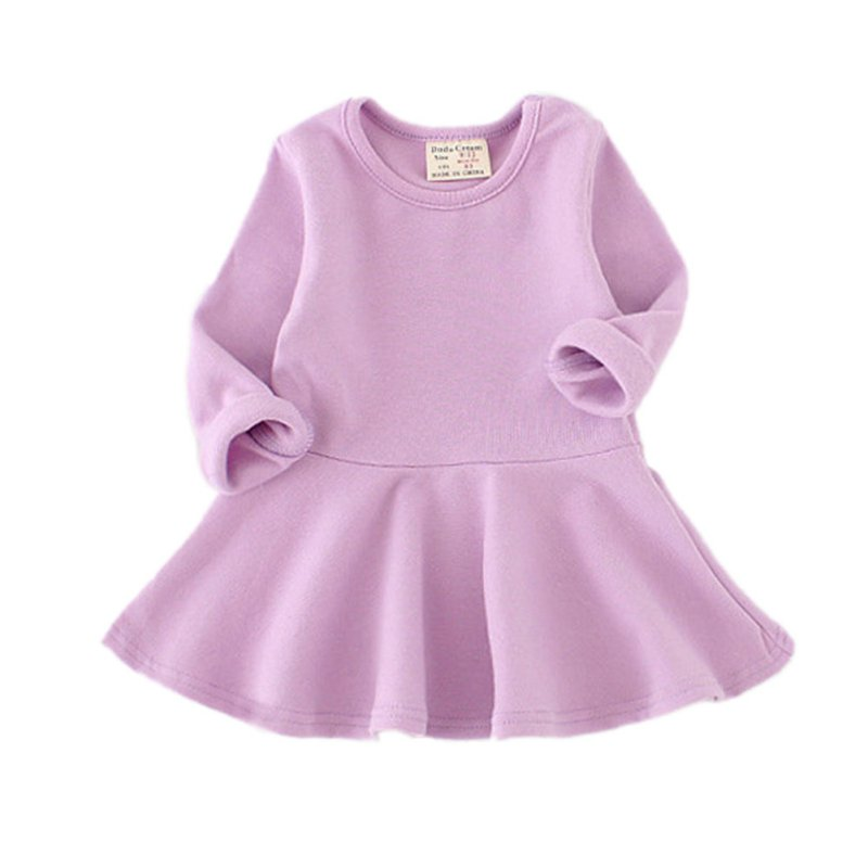 Toddler Baby Girl Kid Autumn Clothes Long Sleeve Party Top