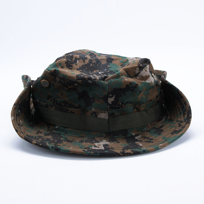 Camo boonie hats military army camo hat fishing hiking for Camo fishing hat
