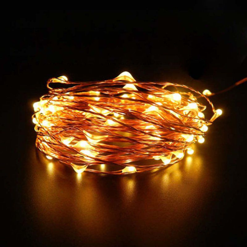 20 Light String Christmas Lights : Christmas Wedding Party Decor Outdoor Fairy String Light Lamp 20/30/40/100 LED eBay