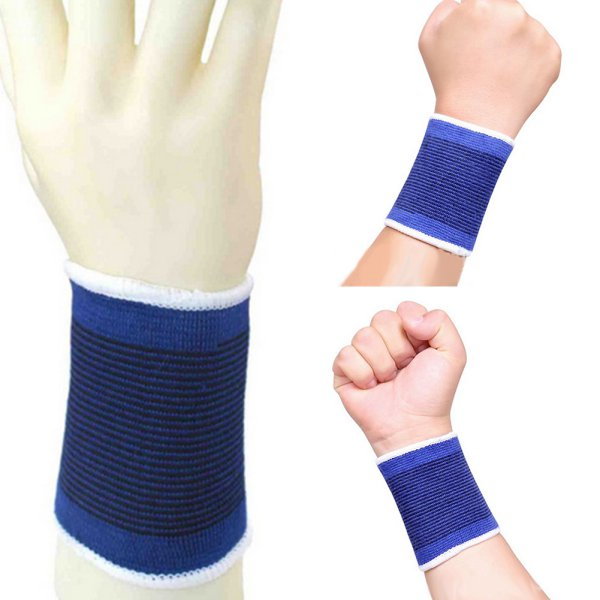 2 Knee Elastic Brace Muscle Support Sleeve Arthritis Sports Pain Relief Gym  E17