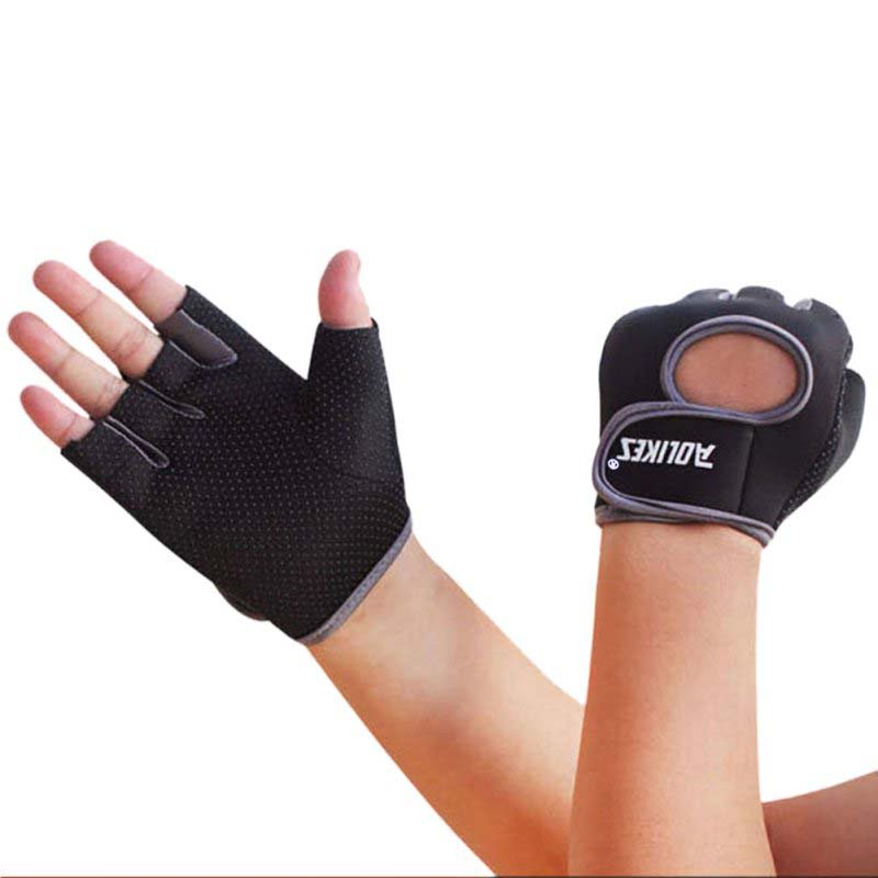Unisex Men Women Sports Gloves Fitness Workout Gym Cycling