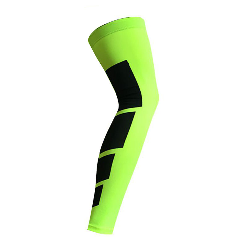 Newest-Crashproof-Antislip-Basketball-Leg-Knee-Long-Sleeve-Protector-Gear-Pad