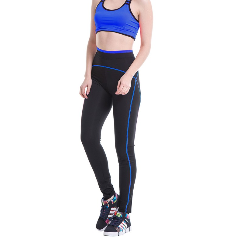 Womens Leggings Yoga Sports Athletic Fitness Stretch: Womens Yoga Gym Pants Running Sports Leggings Fitness