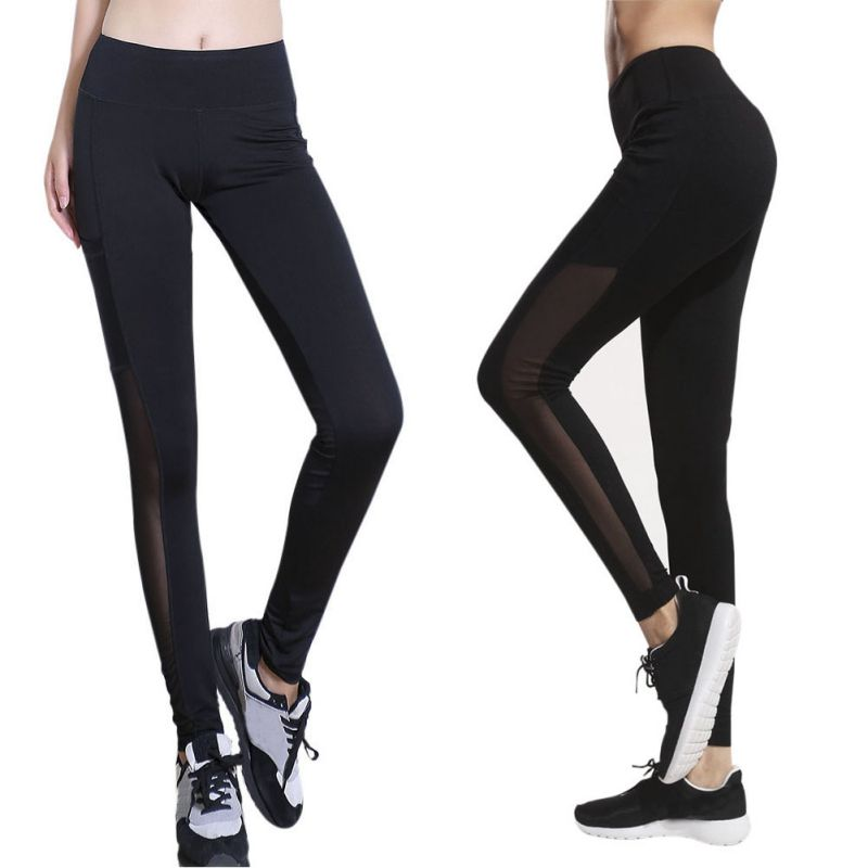 Damen Yoga Gym Pants Running Sports Leggings Fitness Jogging Stretch Trousers | eBay