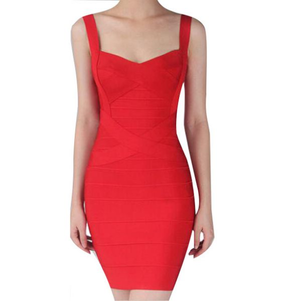 Sexy Women Sleeveless Bandage Bodycon Mini Dresses Backless Cocktail Party Dress