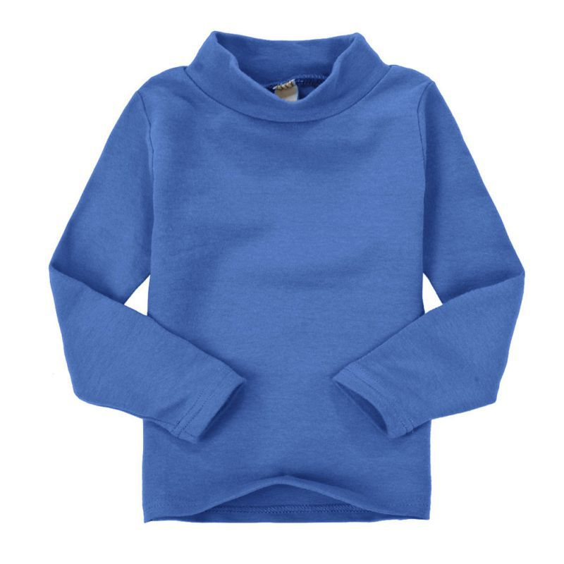 Baby boys girls long sleeve t shirt kids cotton pullover for Long sleeve t shirts with collar