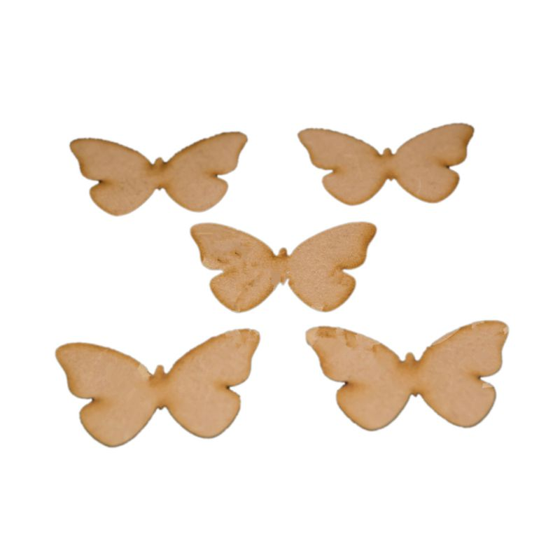 Wood Butterfly Shape Decoration Home Room Wall Art Craft