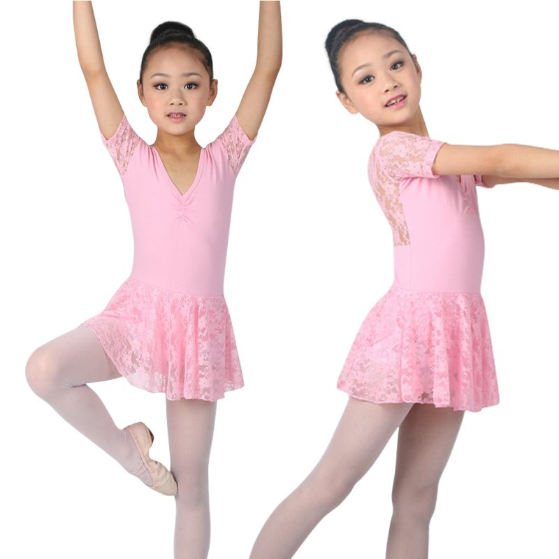 Girls Kids Ballet Costumes Skirt Unitard Leotards Dress ...