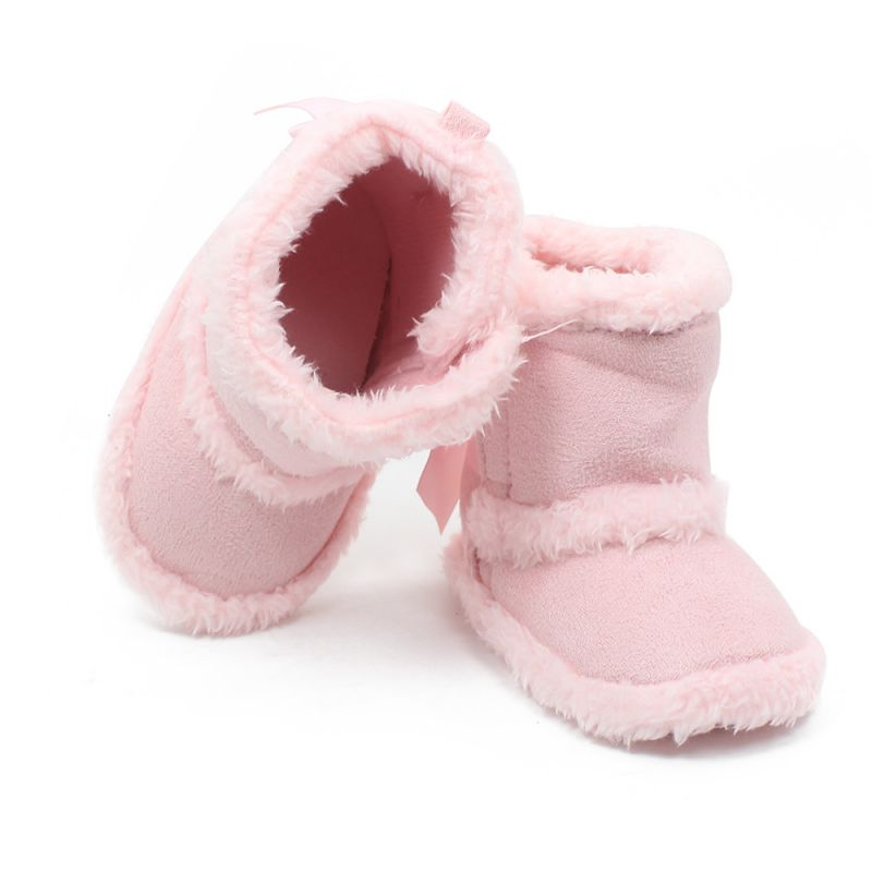 winter baby child boys girls warm cute snow boots fur