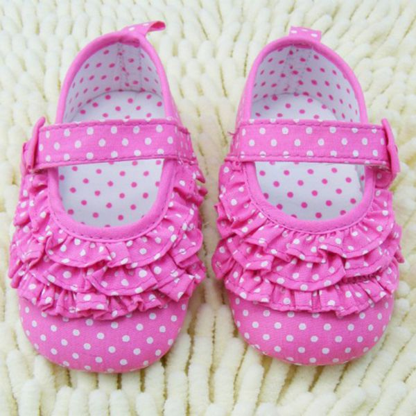 Infant Baby Girl Soft Sole Crib Shoes Toddler Sneaker Baby Shoes 0-18 Months