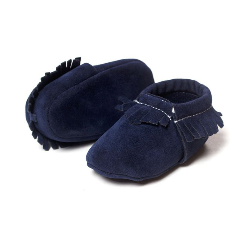 toddler baby boy moccasin crib shoes soft