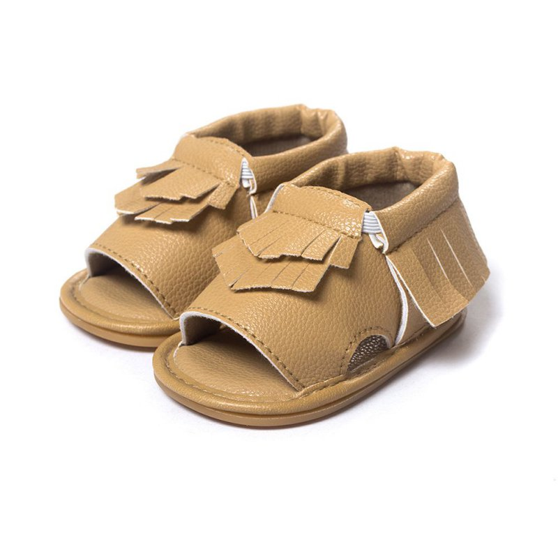 Baby Soft Sole Leather Shoes Infant Boy Girl Sandals