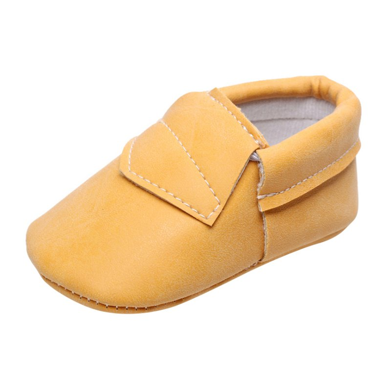 Baby Toddler Soft Sole Leather Shoes Infant Boy Girl