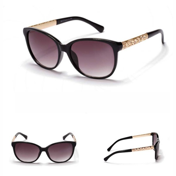 retro sunglasses plastic frame metal leg cat eye