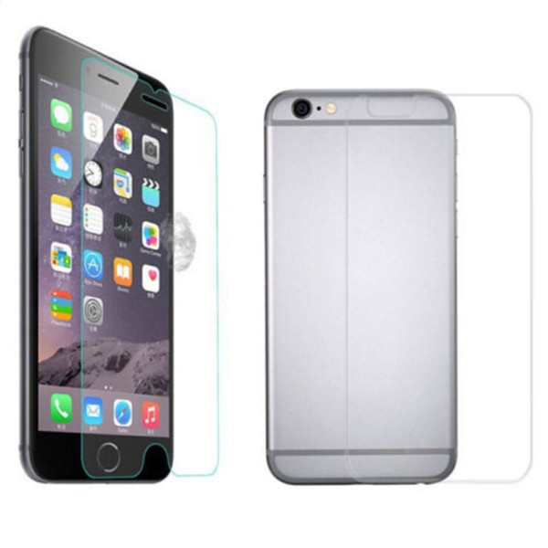 Front and Back Tempered Glass Screen Protector Cover for Apple iPhone 6 & 6 Plus