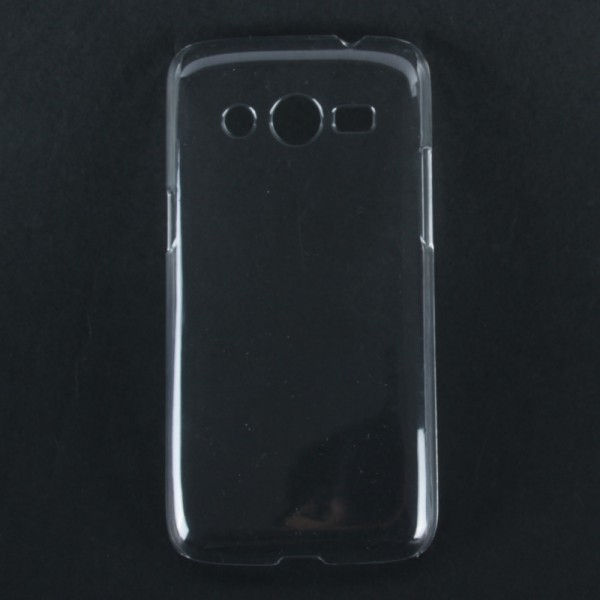 New For Samsung Galaxy Core LTE SM-G386F Core 4G Transparent Hard Case Cover