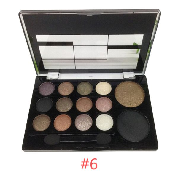 Makeup Power Set Warm Color Eye Shadow Palette Natural Nude Eyeshadow Cosmetic
