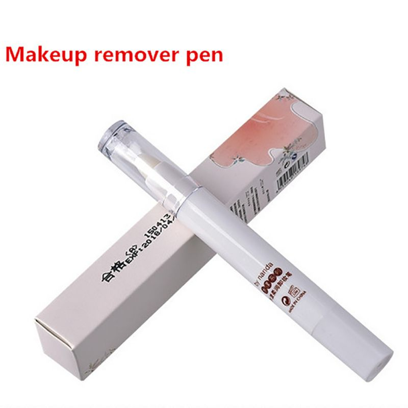 Lip Eyeliner Eyeshadow Makeup Remover Pen Cosmetic Quick Cleansing Cream Beauty