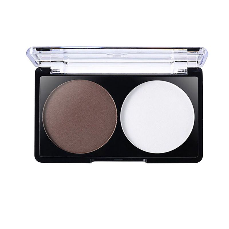 Women Lady New Makeup Contour Powder Highlighter Pressed Powder Palette Cosmetic