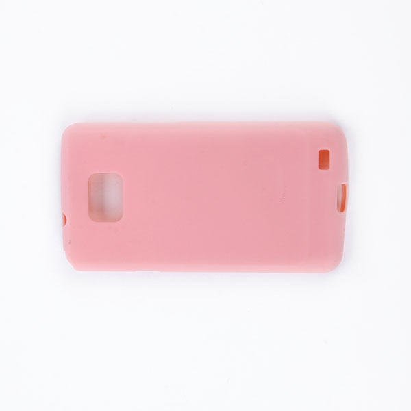 Colorful Topping TPU Rubber Jelly Soft Case Cover For Samsung Galaxy S2 i9100