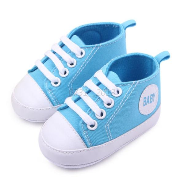 Stylish Infant Baby Boy Girl Canvas Toddler Sneakers Soft