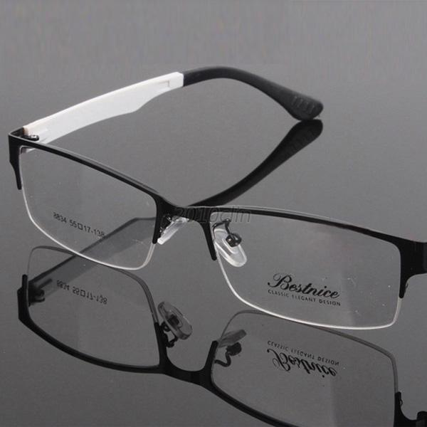 Black Metal Frame Glasses : New Myopia Glasses Optical Eyeglass Radiation Black Metal ...