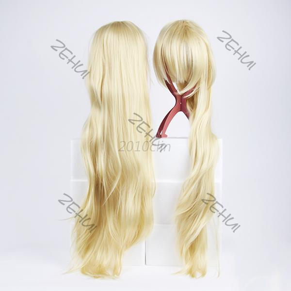 Womens Girl Cosplay Party Long Straight Hairs Long Bangs Wigs Full Wig .. Seller