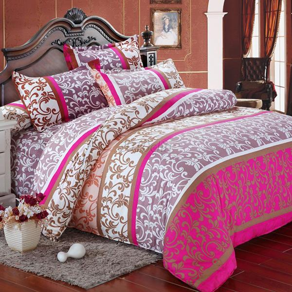 Single Full/Queen/Double King Duvet Cover Pillow Case Quilt Cover Bedding Set