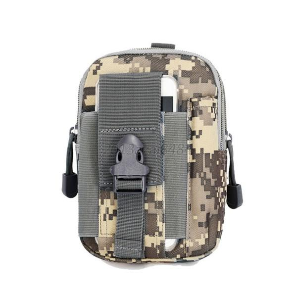 Outdoor Tactical Waist Pack Bag EDC Camping Hiking Pouch Cover Holder Case Bags