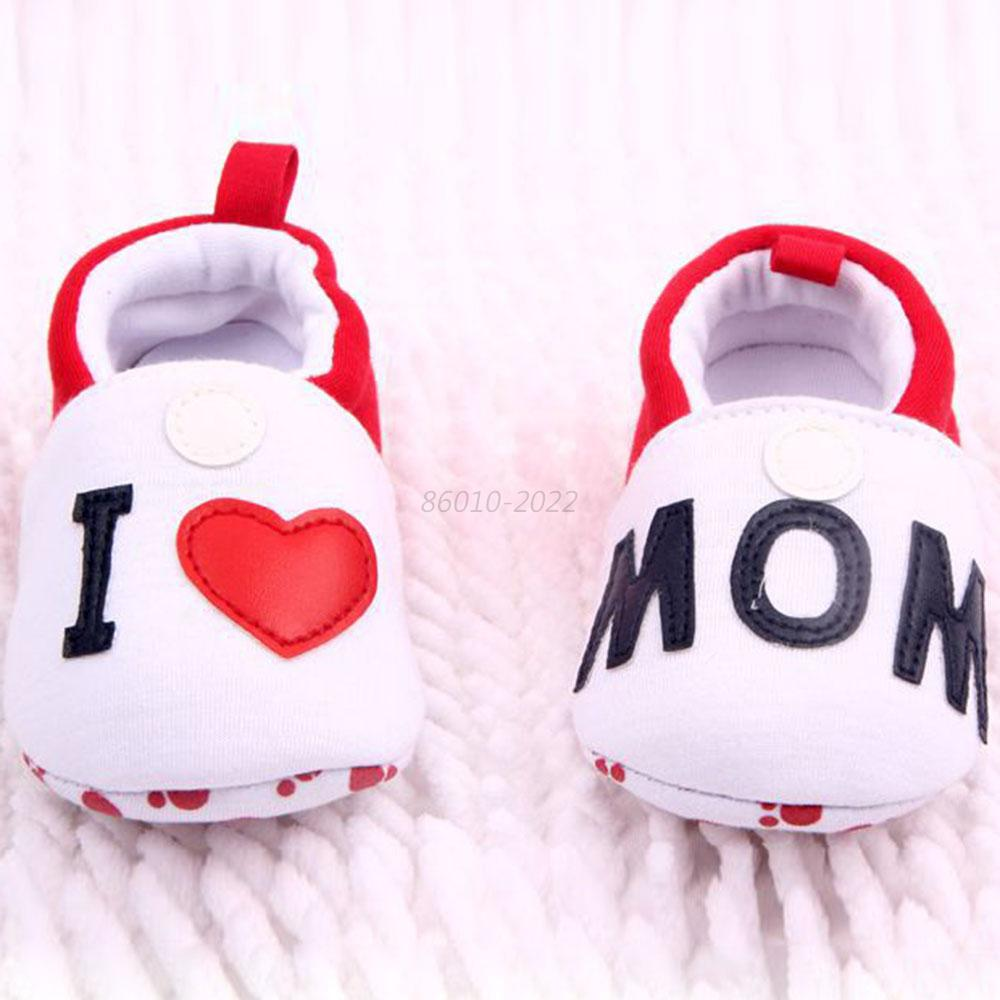 Girl Boy Toddler Soft Sole Anti-slip Slippers Cotton Baby Shoes Prewalkers B13
