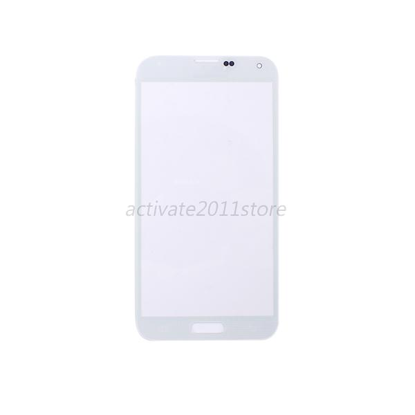 Outer Glass Lens Cover Replacement Parts For Samsung Galaxy S5 SV i9600 ACT