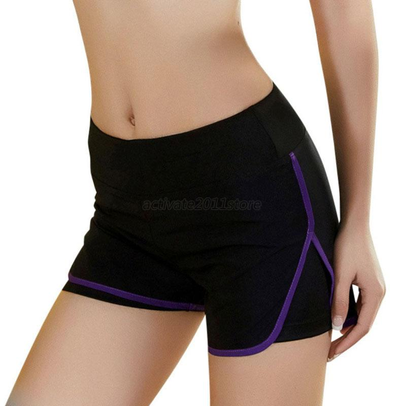 Women Quick Dry Sports Shorts Gym Workout Fitness Yoga