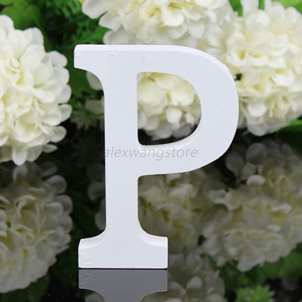 A Z Wooden Letters Alphabet Word Free Standing Wedding