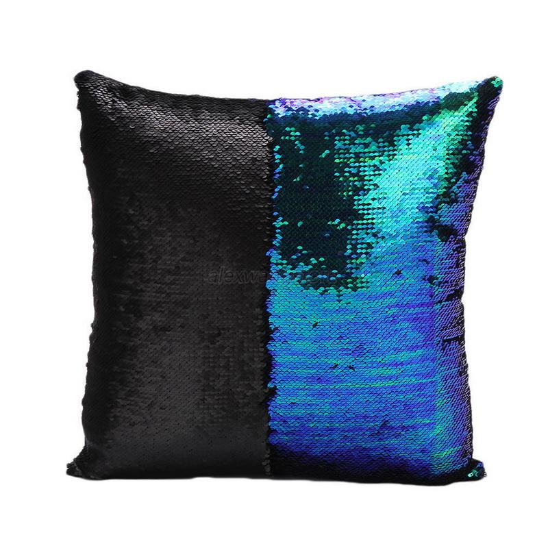 Reversible Sequin Cushion Cover Mermaid Glitter Sofa  : ZP0308 01 from www.ebay.co.uk size 800 x 800 jpeg 93kB