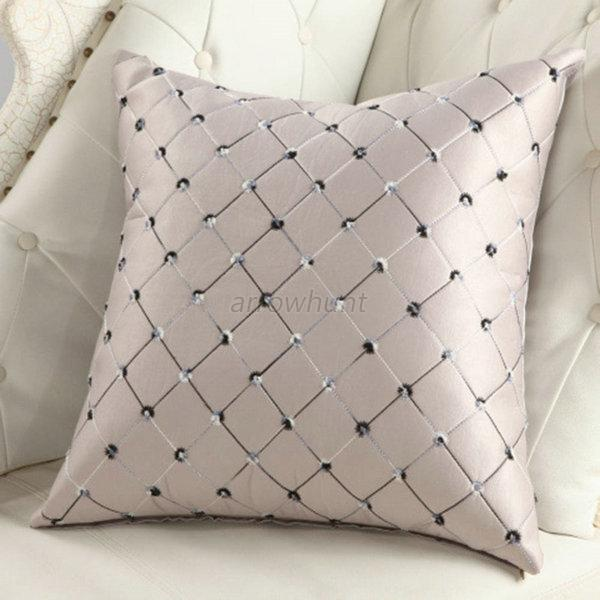 Sofa Home Bed Decor Throw Pillow Case Cushion Cover Square Plaid Pattern New A75 eBay
