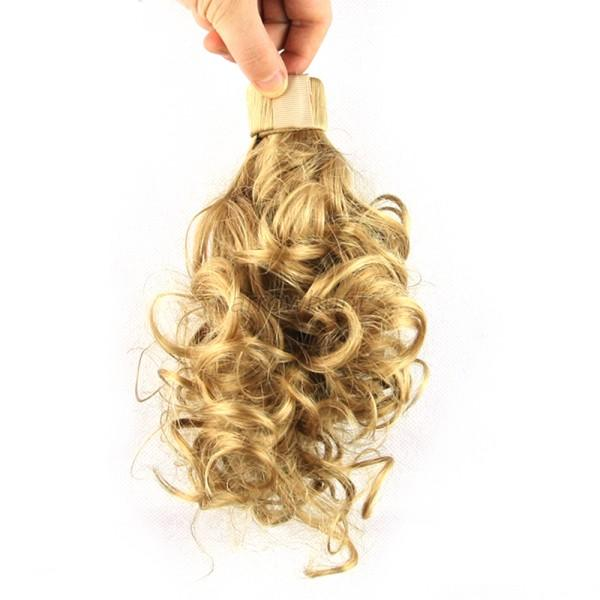 Clip In Hair Extension Wrap Around Clip on Ponytail Hair