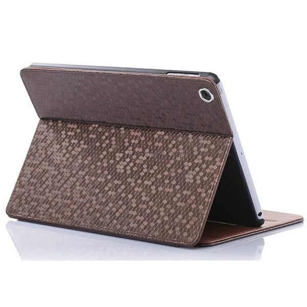 10 Color Diamond Texture Flip Leather Cover Stand Case For Apple iPad mini 1 2 3