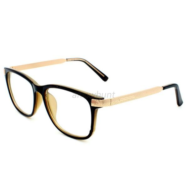 Square Framed Fashion Glasses : Fashion Women Retro Square Glasses Metal Frame Eyewear ...