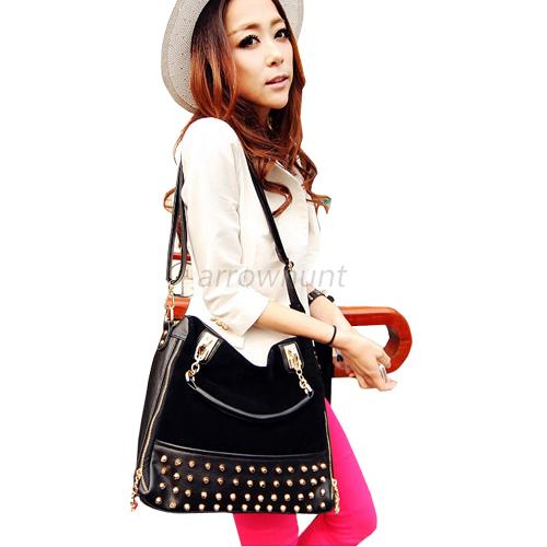 Fashion Leather Women Shopper Shoulder Handbag Messenger Crossbody Tote Bag Hobo