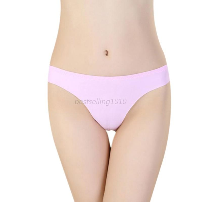 Womens Knickers Thongs G String Briefs Lingerie Underwear V-string Panty Hot B95